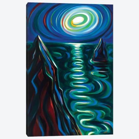 Fantasy of the Night Canvas Print #NVK239} by Novik Art Print