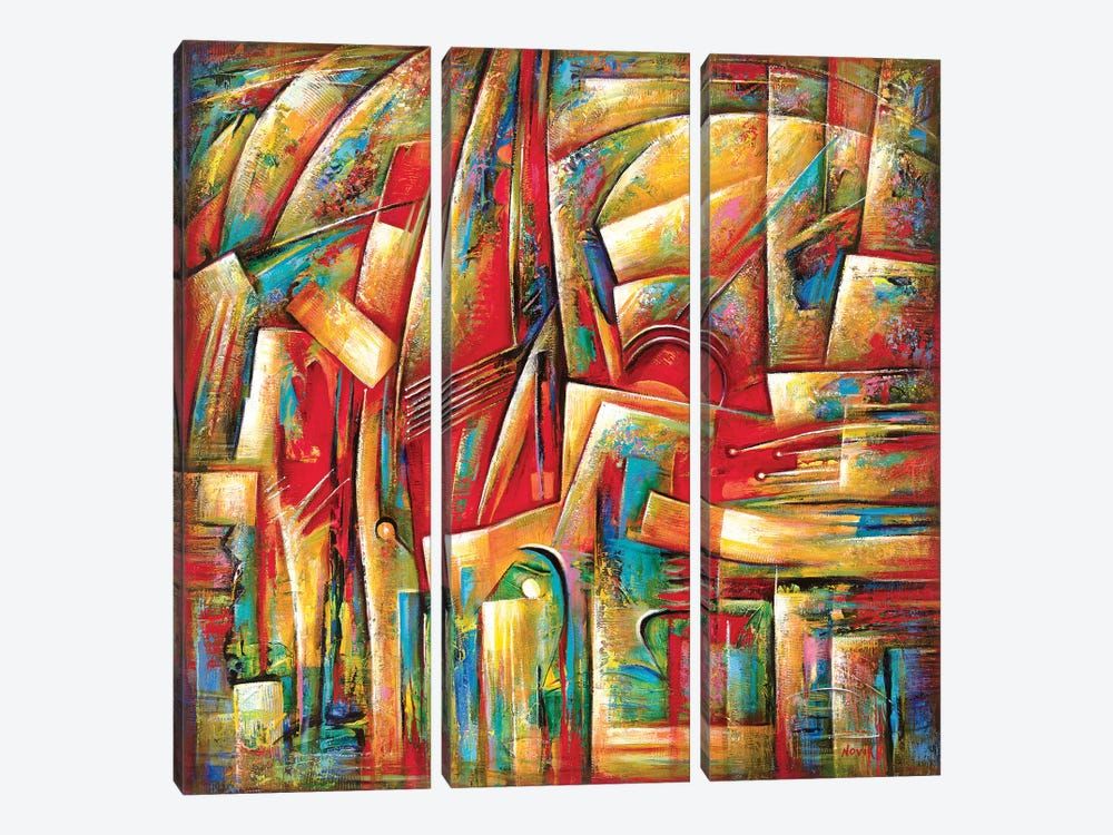 City In Dream by Novik 3-piece Art Print