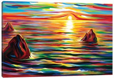 Sunset for Three Canvas Art Print