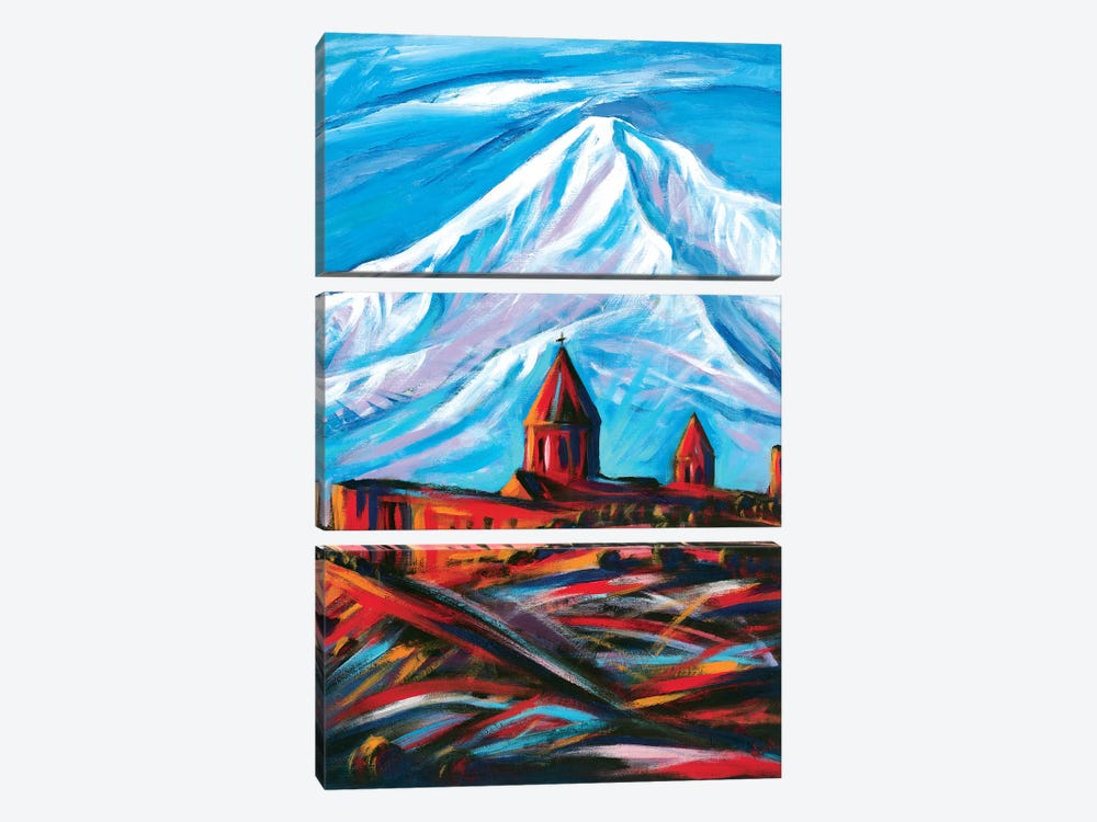 Close And Far by Novik 3-piece Canvas Art