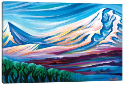Cradle Of Nations Canvas Art Print