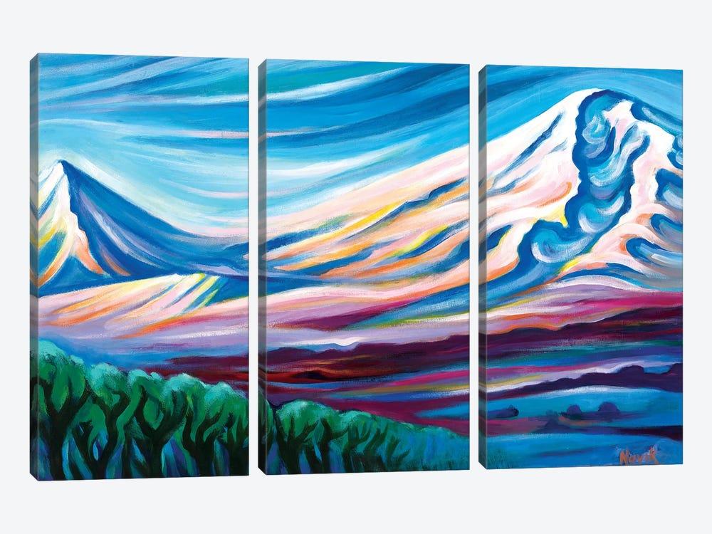 Cradle Of Nations by Novik 3-piece Canvas Art Print