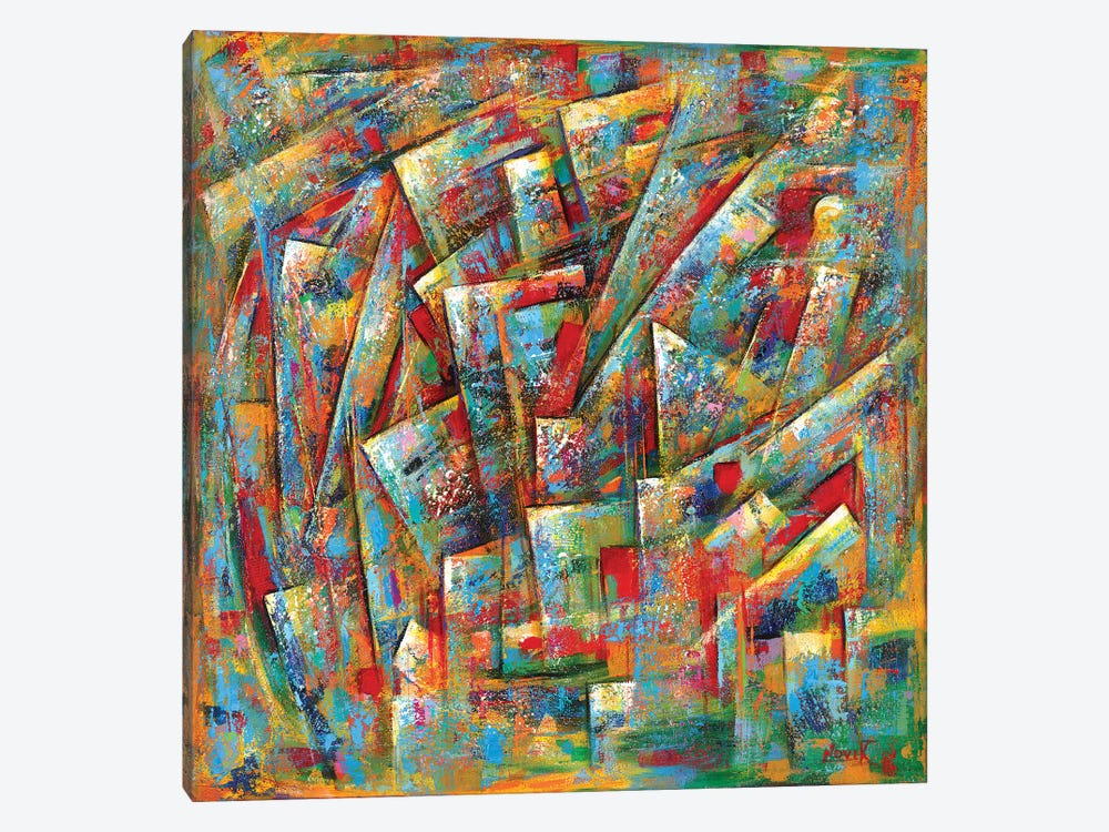 Different Meaning by Novik 1-piece Canvas Wall Art