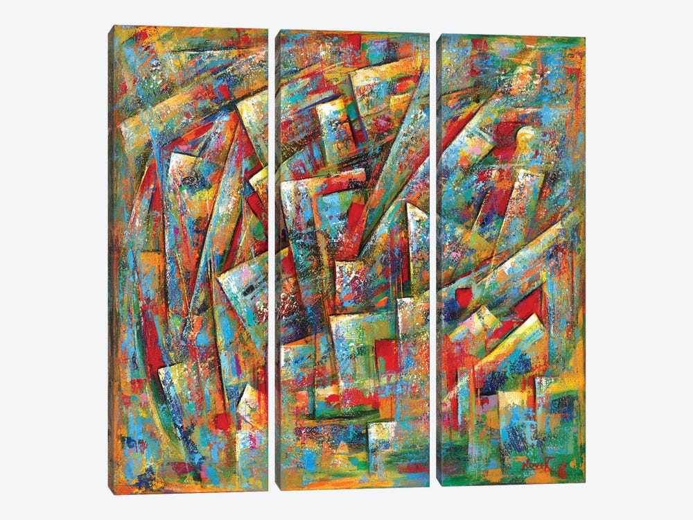 Different Meaning by Novik 3-piece Canvas Wall Art