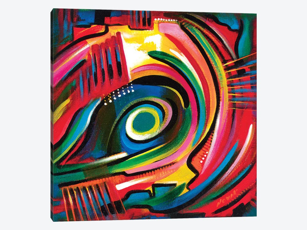Eye Of The Tiger by Novik 1-piece Canvas Artwork