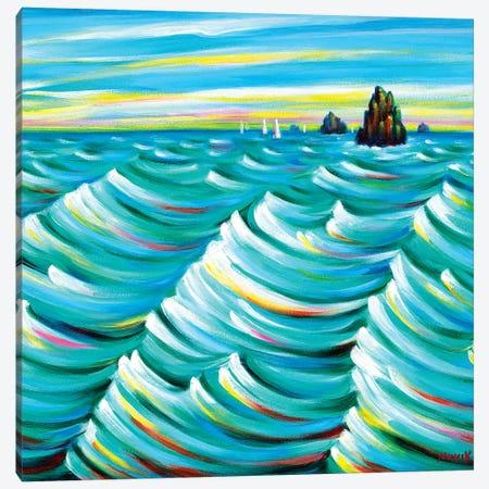 Far Sea Canvas Print #NVK49} by Novik Canvas Artwork