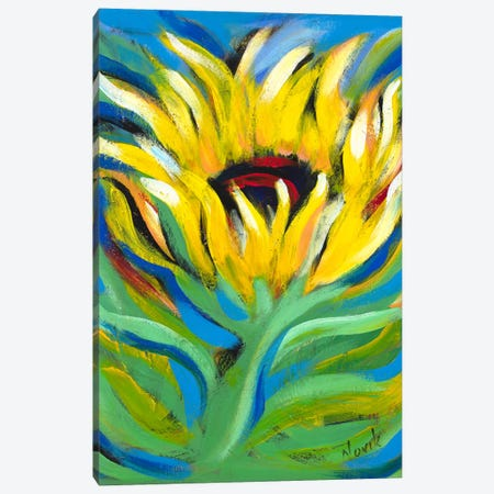 Found Beauty Canvas Print #NVK53} by Novik Art Print