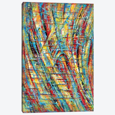 Alien Network Canvas Print #NVK5} by Novik Canvas Art