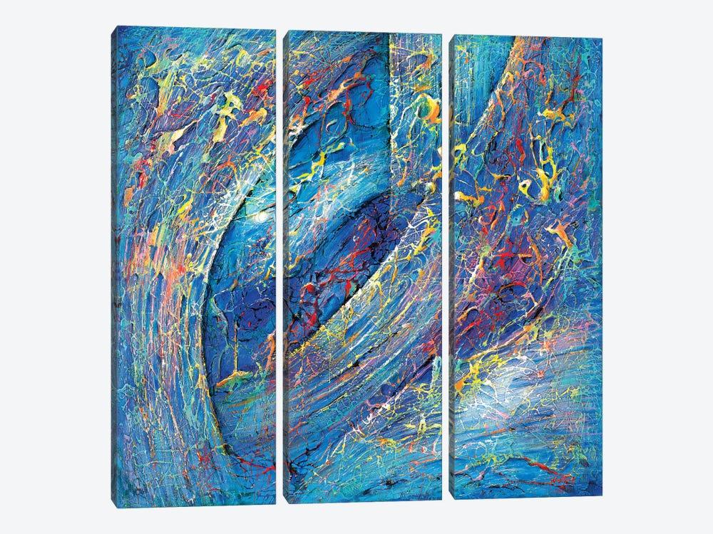 Galactical Web by Novik 3-piece Canvas Art