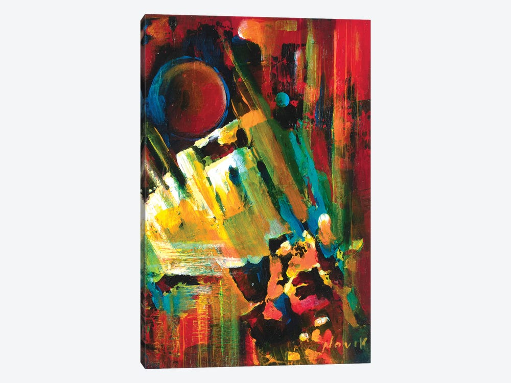 Gravitation by Novik 1-piece Canvas Wall Art