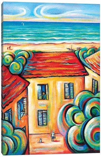 Happy Life Canvas Art Print