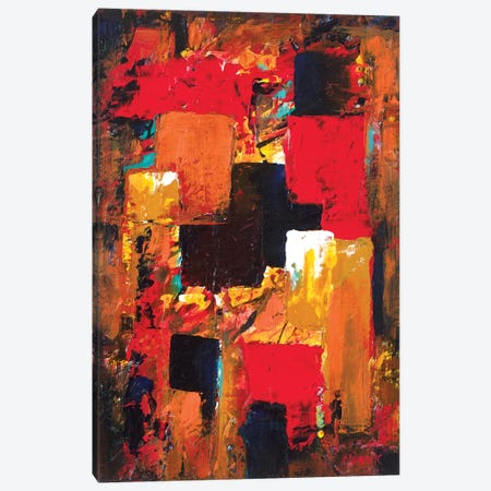Hidden Treasure Canvas Print #NVK73} by Novik Art Print