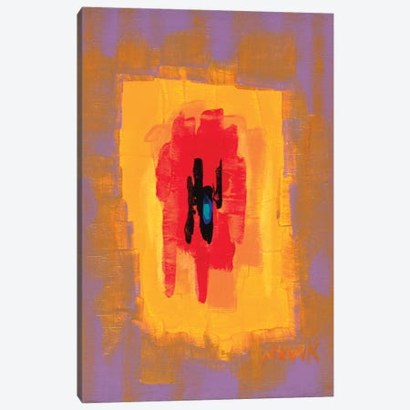 In The Red Spot Canvas Print #NVK80} by Novik Canvas Art