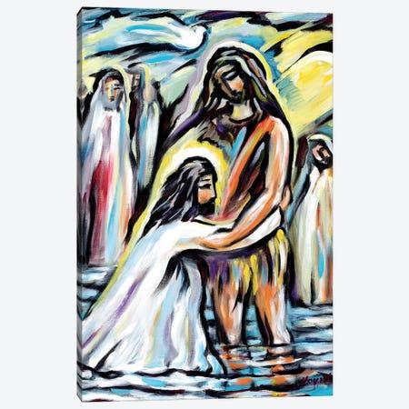 John And Lord Canvas Print #NVK83} by Novik Canvas Wall Art