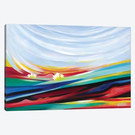 Landscape In Dreams Canvas Print #NVK85} by Novik Canvas Art Print