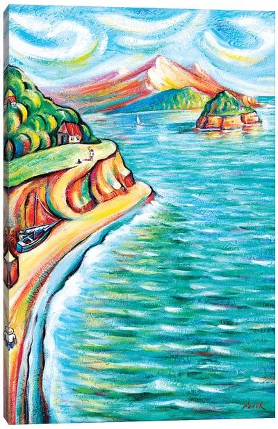 Life On The Islands Canvas Art Print