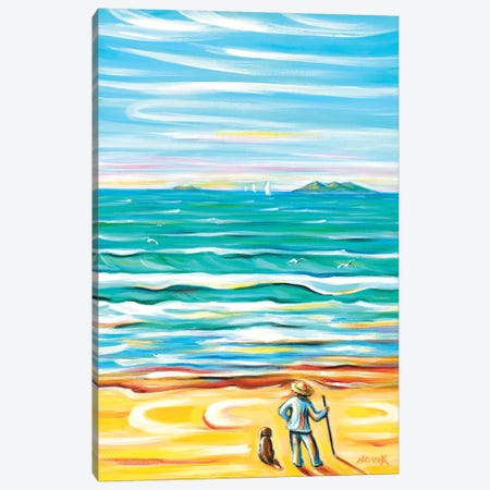 Looking Far Canvas Print #NVK96} by Novik Canvas Artwork