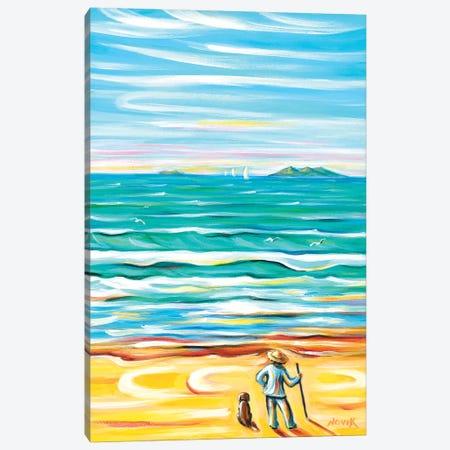 Looking Far Canvas Print #NVK96} by Novik Canvas Artwork