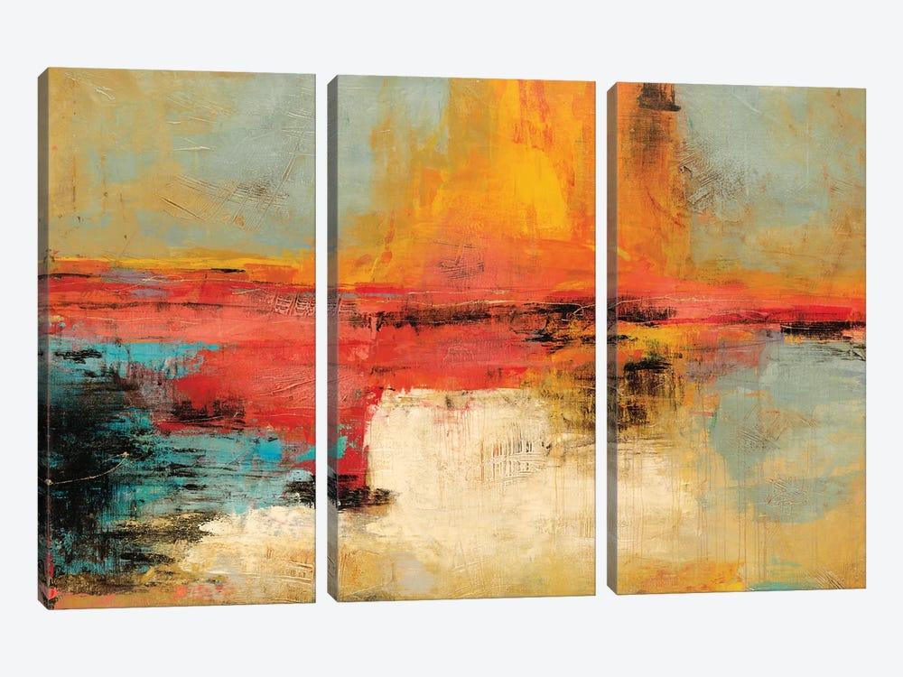 Acertijo by Nancy Villarreal Santos 3-piece Canvas Print