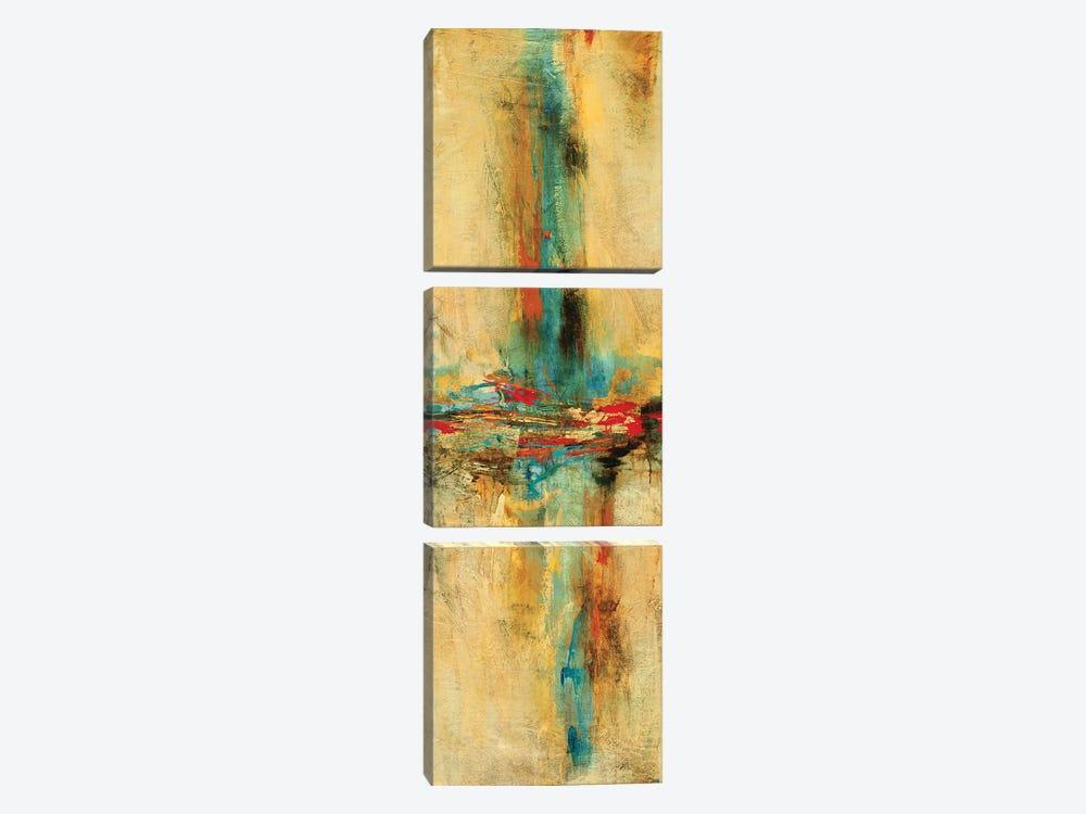 Equilibrio I by Nancy Villarreal Santos 3-piece Canvas Artwork