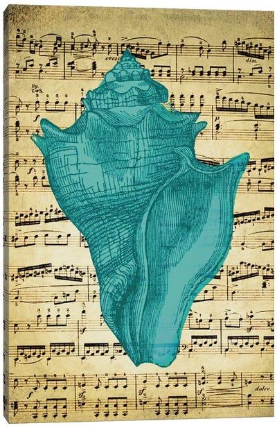 Blue Sea I Canvas Art Print