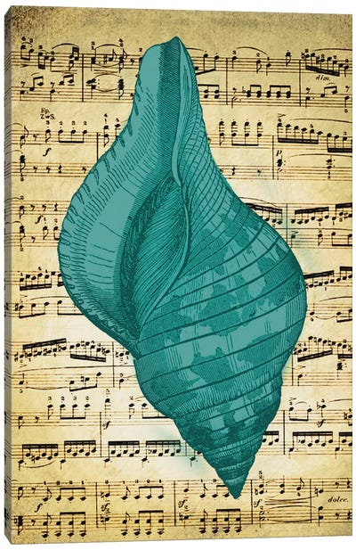 Blue Sea II Canvas Art Print