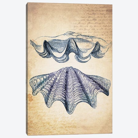 Blue Sea IV Canvas Print #NWE13} by Natasha Wescoat Canvas Art