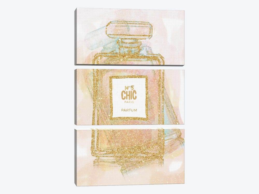 Chic Bottle I 3-piece Canvas Wall Art