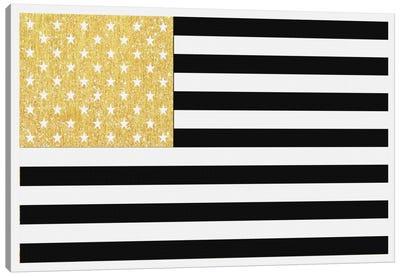 Gold Flag II Canvas Print #NWE28