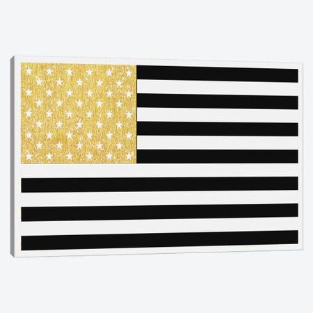 Gold Flag II Canvas Print #NWE28} by Natasha Wescoat Canvas Art Print