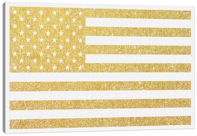 Gold Flag III Canvas Art Print