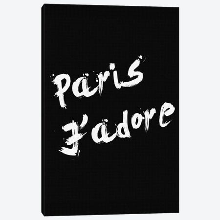 Paris Jadore Canvas Print #NWE41} by Natasha Westcoat Canvas Print