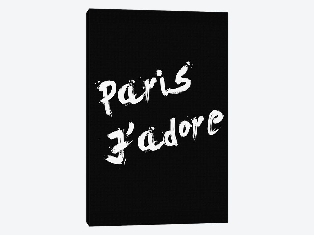 Paris Jadore 1-piece Canvas Art