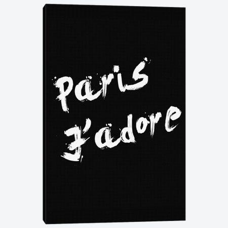 Paris Jadore Canvas Print #NWE41} by Natasha Wescoat Canvas Print