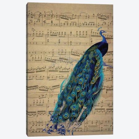 Peac I Canvas Print #NWE42} by Natasha Wescoat Canvas Print