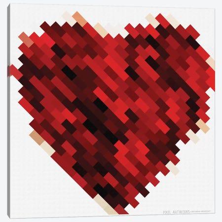 Rouge Heart Canvas Print #NWE52} by Natasha Wescoat Canvas Art
