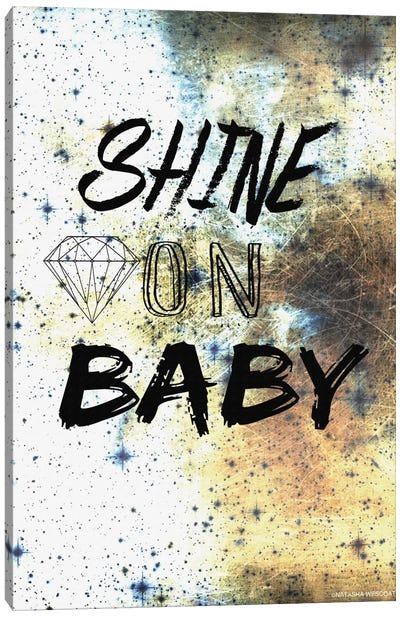 Shine On Canvas Art Print