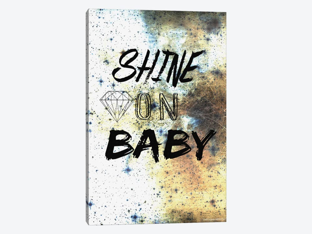 Shine On by Natasha Westcoat 1-piece Canvas Artwork