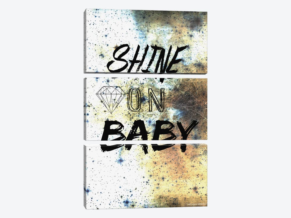 Shine On by Natasha Westcoat 3-piece Canvas Art