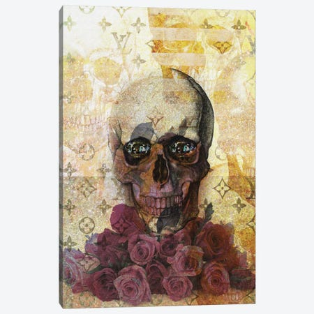 Skulls And Diamonds Canvas Print #NWE55} by Natasha Wescoat Canvas Print