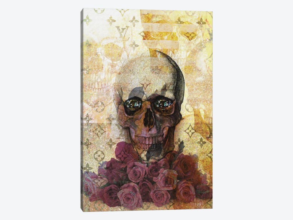 Skulls And Diamonds by Natasha Westcoat 1-piece Art Print