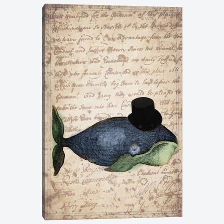 Big Whale Canvas Print #NWE7} by Natasha Wescoat Canvas Print