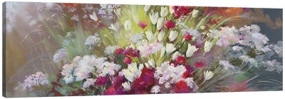 Garden Of Senses - Soft Touch Canvas Art Print