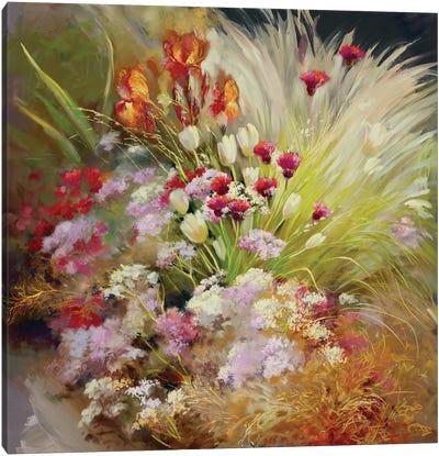 Garden Of The Senses Canvas Art Print