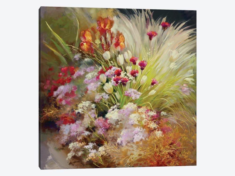Garden Of The Senses by Nel Whatmore 1-piece Canvas Art Print