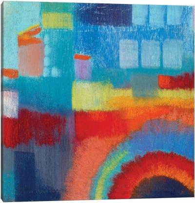 Cityscape Bridge Canvas Art Print