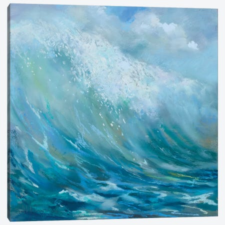 Perfect Surf Canvas Print #NWM110} by Nel Whatmore Canvas Artwork