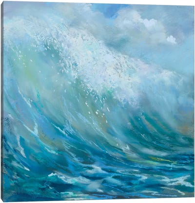 Perfect Surf Canvas Art Print