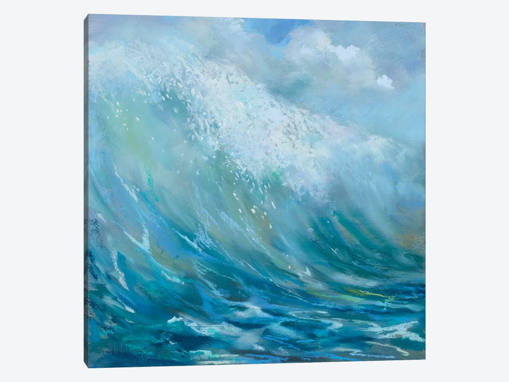 Perfect Surf by Nel Whatmore 1-piece Canvas Art