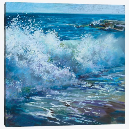 Roaring In Canvas Print #NWM113} by Nel Whatmore Canvas Artwork